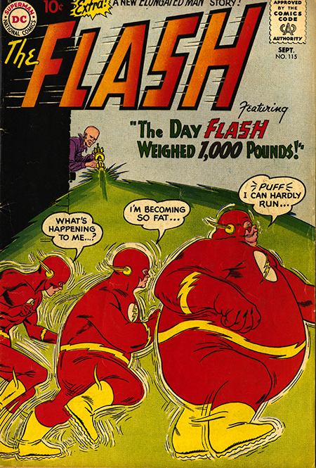 The Flash no.115