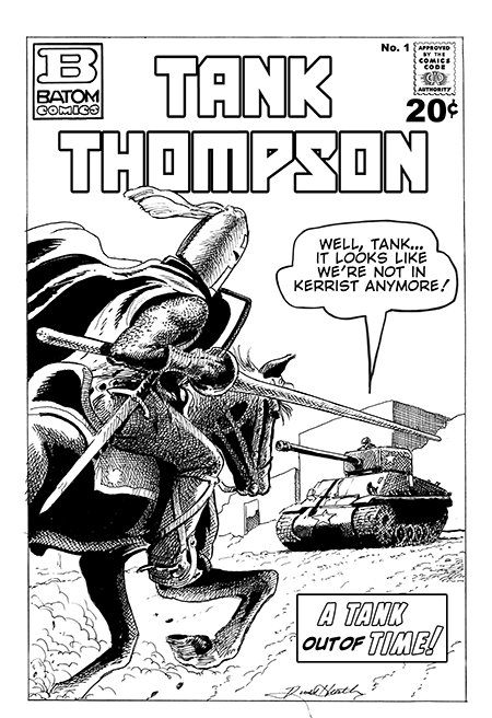 Tank Thompson B&W Russ Heath3