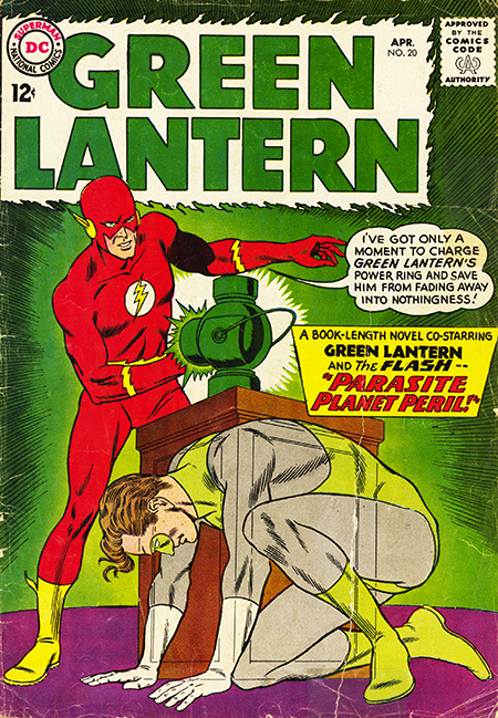 The Flash no.135 GL